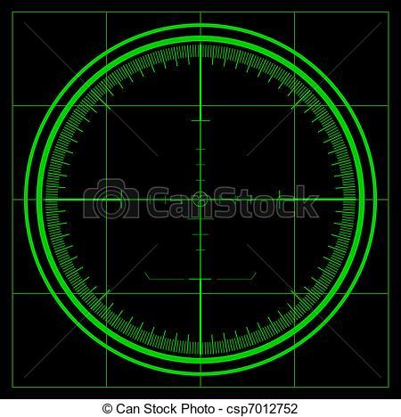Vector Illustration of Radar screen csp7012752.