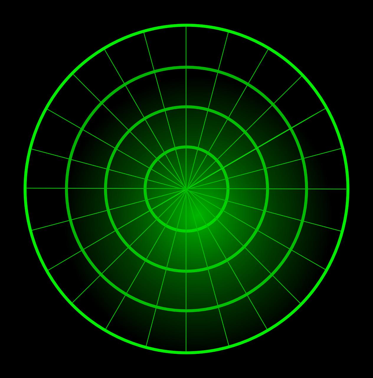 Radar Blank Green Center PNG.