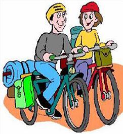 Radfahren clipart.