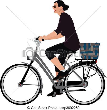 Radfahrer Stock Illustrationen. 2.579 Radfahrer Clipart Bilder und.