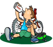 Fahrradtour clipart.