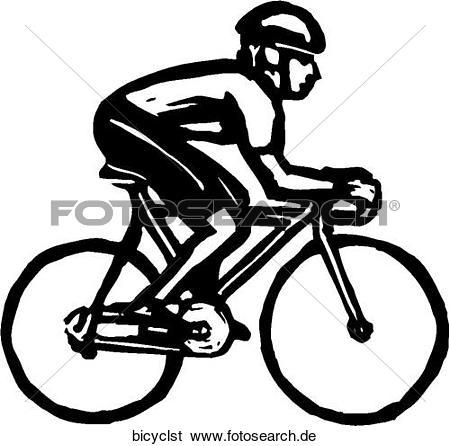 Radfahrer Clip Art Illustrationen. 1.881 radfahrer Clipart EPS.