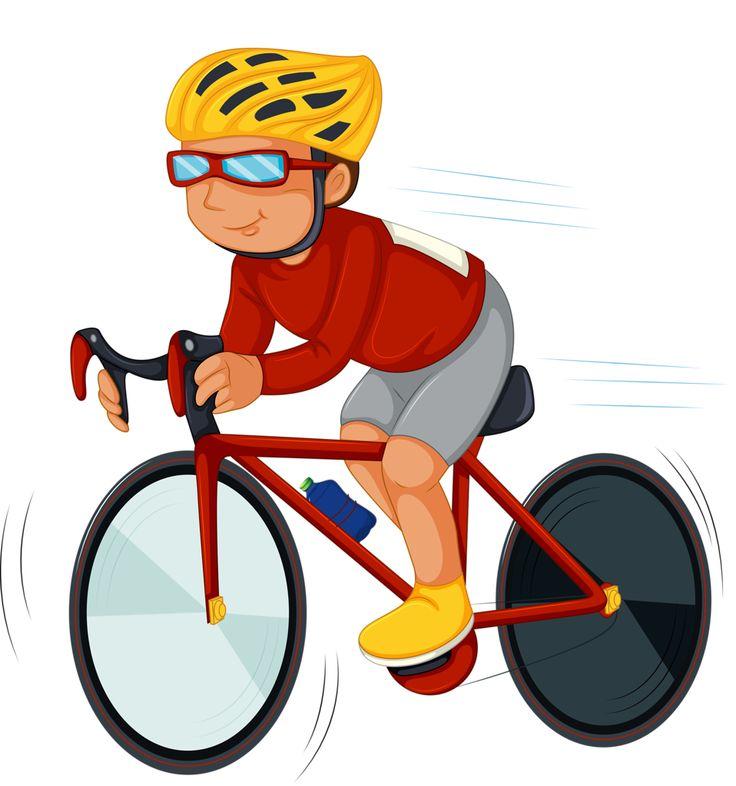 Radfahrer mit helm clipart 13 » Clipart Station.