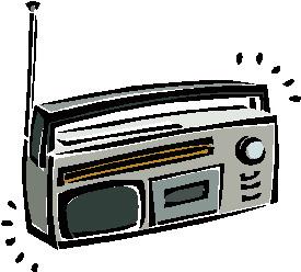 Radio Clipart Images.