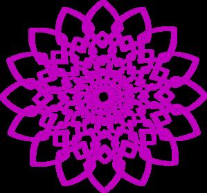 Purple Chakra Radial Clip Art at Clker.com.