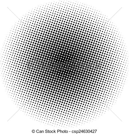 Vector Illustration of Optical dots radial gradient csp24630427.