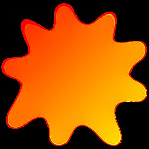 Radiant Sun Clip Art at Clker.com.