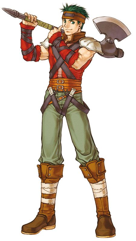 Boyd (FE: Path of Radiance/Radiant Dawn) I like his character and.