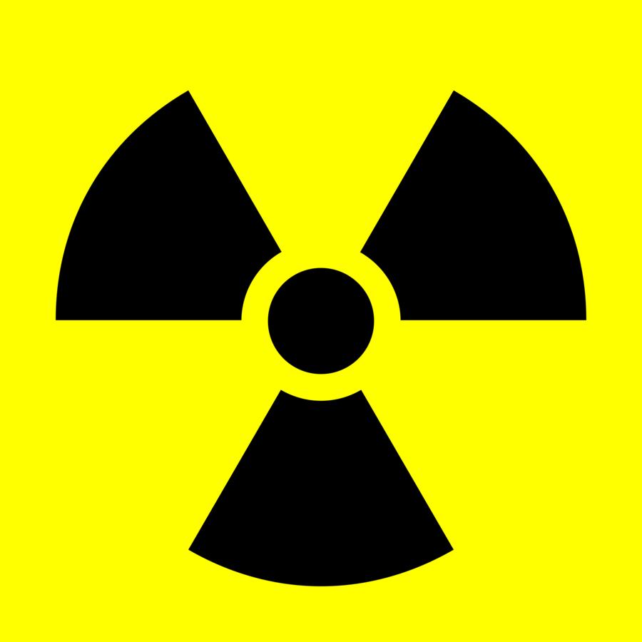 Radiation Symbol clipart.