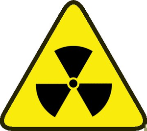 Free Clipart Radiation Symbol.