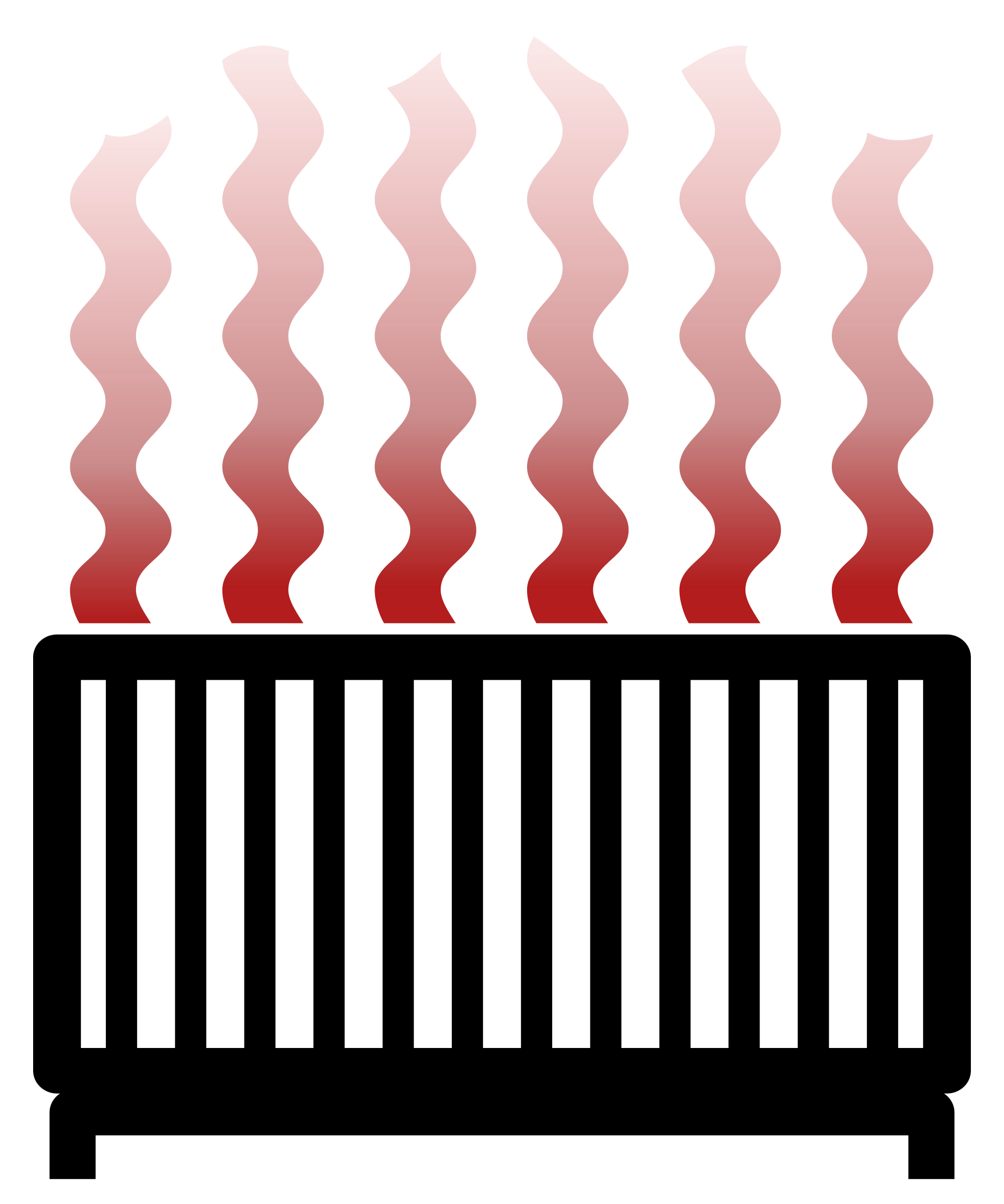 Heating Radiator Clipart transparent PNG.