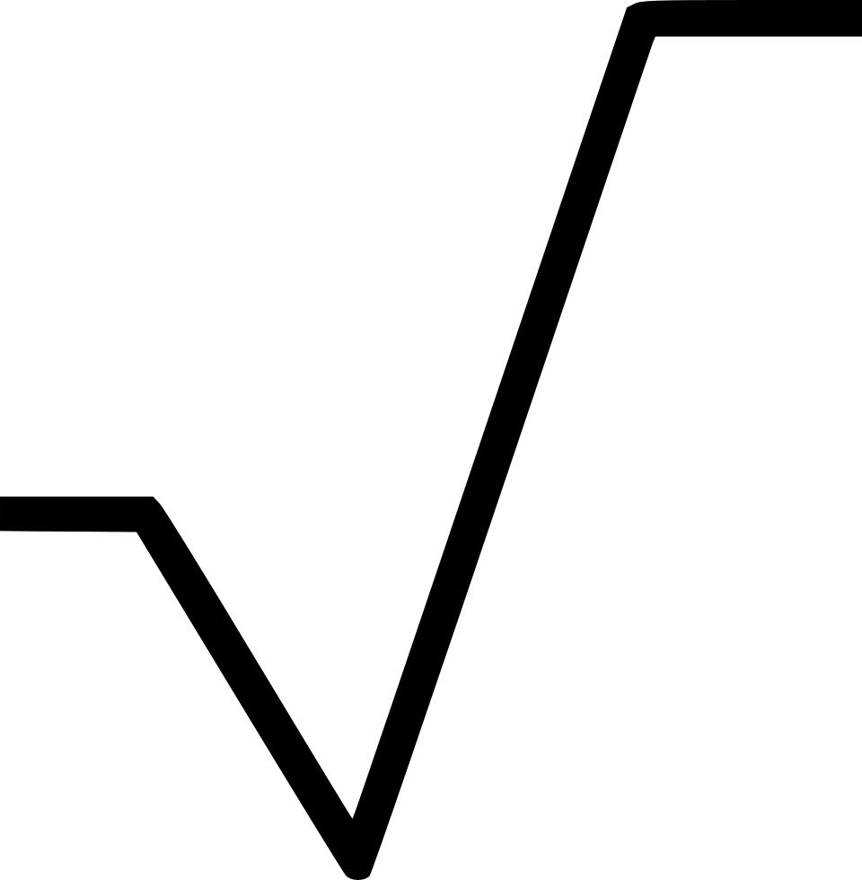 Radical Sign Symbol Math Mathematics Svg Png Icon Free.