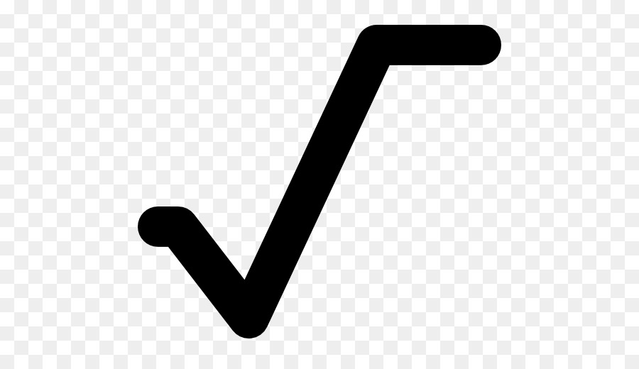Square Root Angle png download.