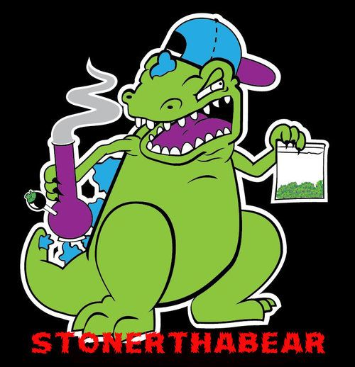 stoner reptar nothing cooler..