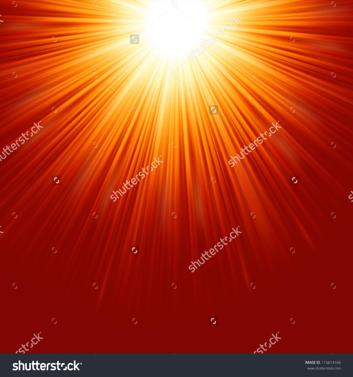 Radiant star clipart.