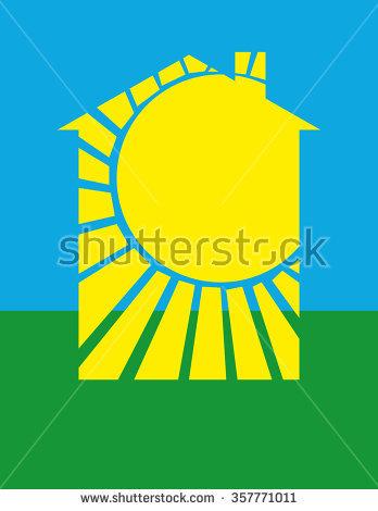 Radiant Sunshine Rays Clip Art.