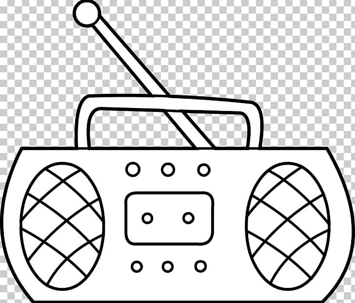Radio Black And White PNG, Clipart, Angle, Antique Radio.