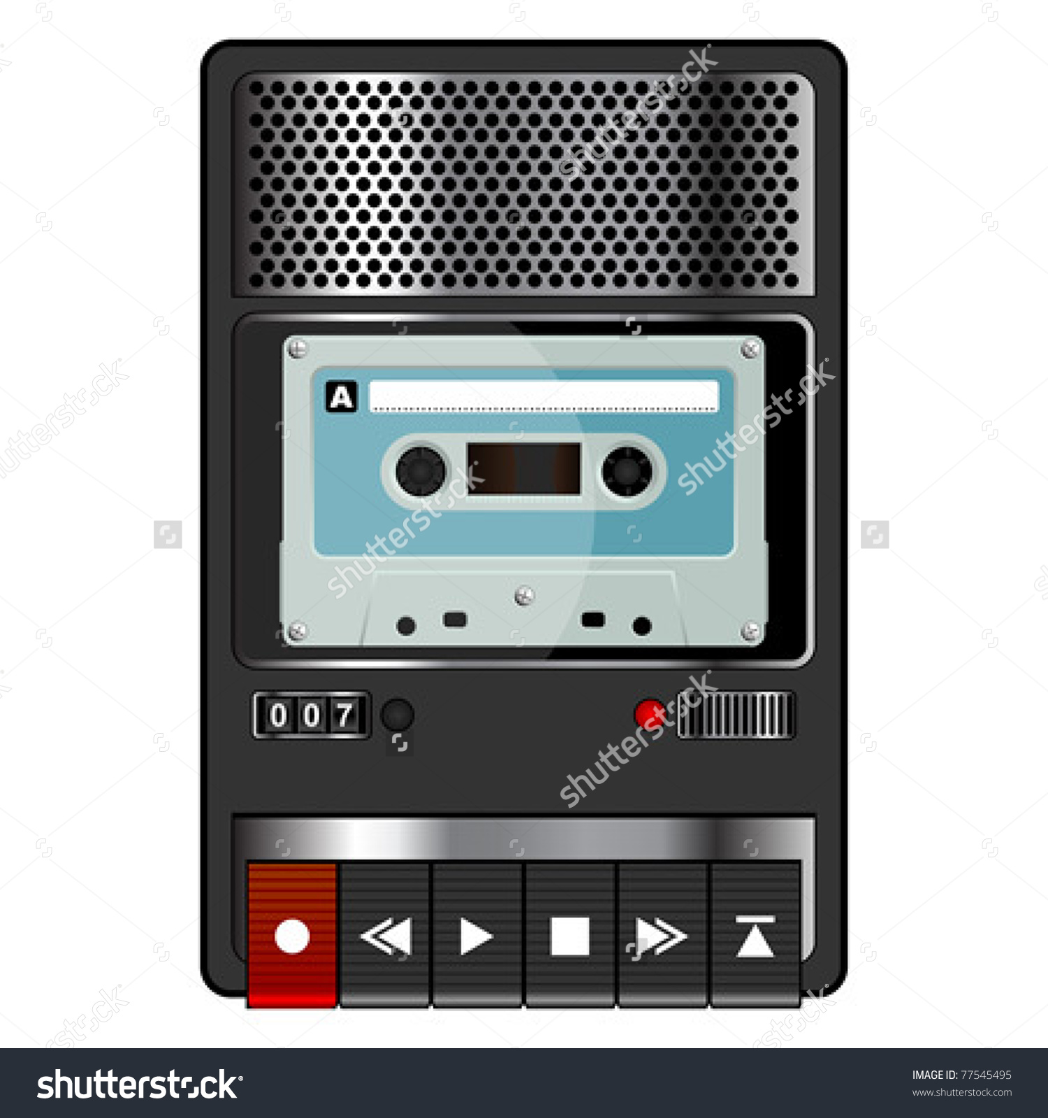 Old Tape Recorder Stock Vectors & Vector Clip Art.