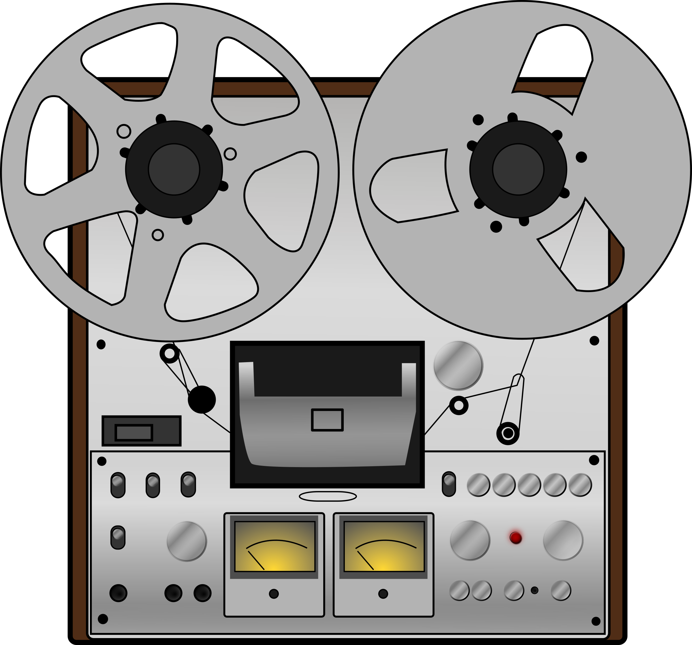 Tape recorder clipart free.