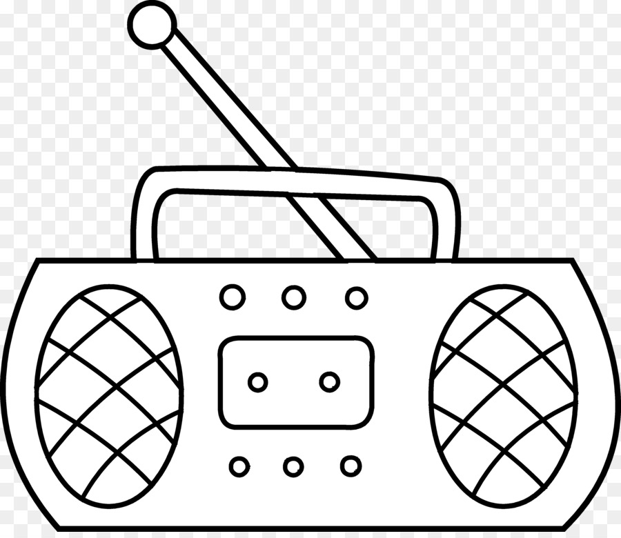 Radio black and white clipart 5 » Clipart Station.