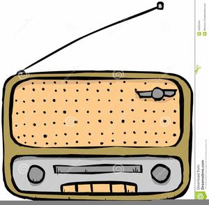 Antique Radio Clipart Free.