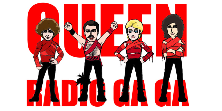 Radio Ga Ga By Queen.
