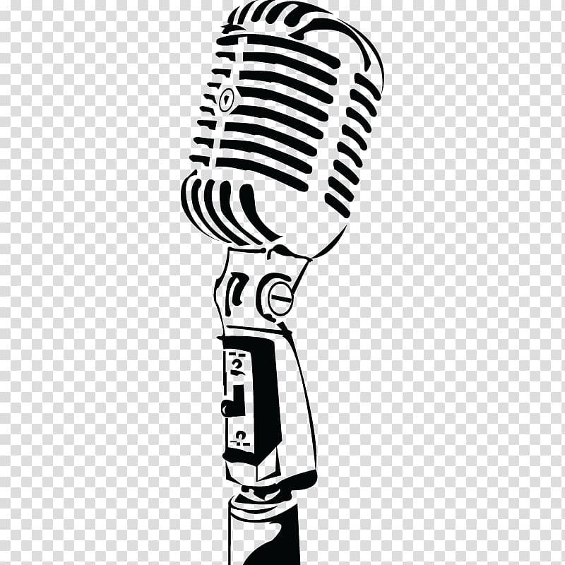Microphone Music Radio, microphone transparent background.