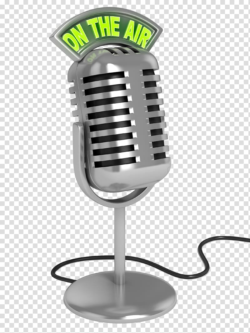 Wireless microphone Radio, microphone transparent background.