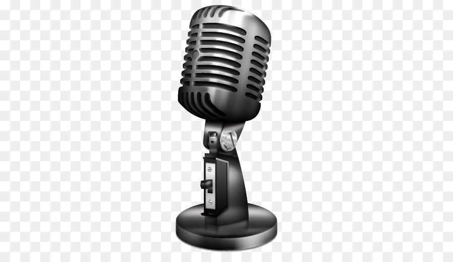 Wireless microphone Radio Clip art.