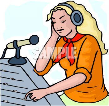 Clipart Radio Station.