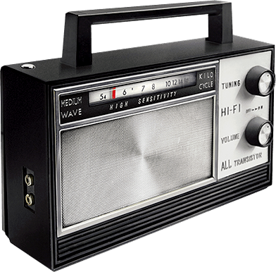 Radio PNG images free download.