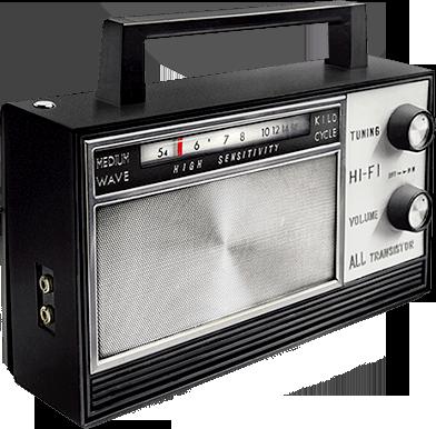 Radio PNG images free download.
