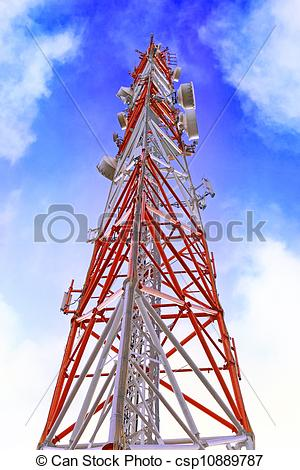 Pictures of Radio Relay Link, Mobile Base Station..