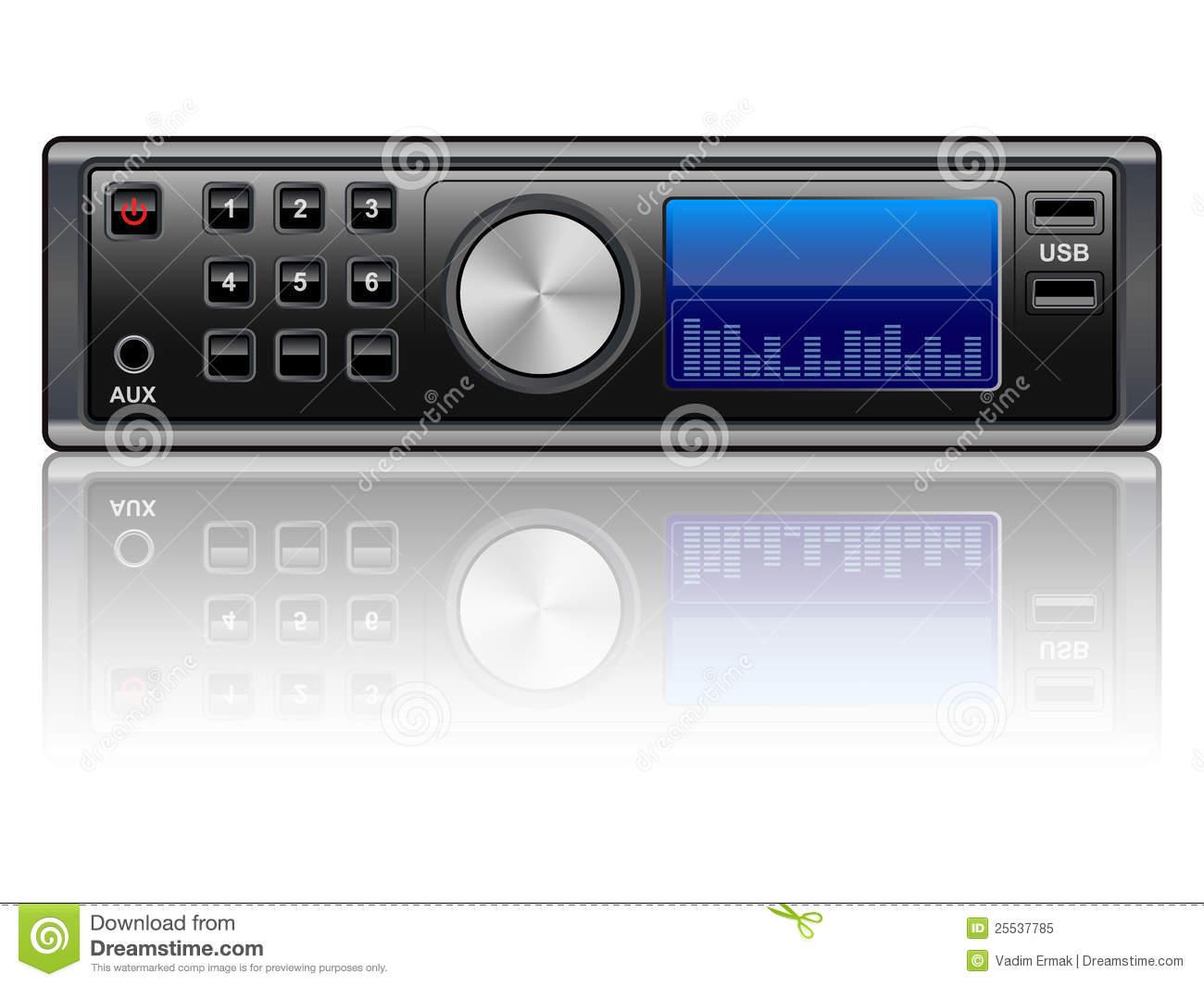 Radio System Clipart