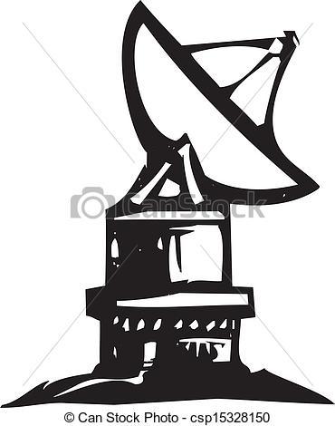 Radio telescope Stock Illustrations. 519 Radio telescope clip art.
