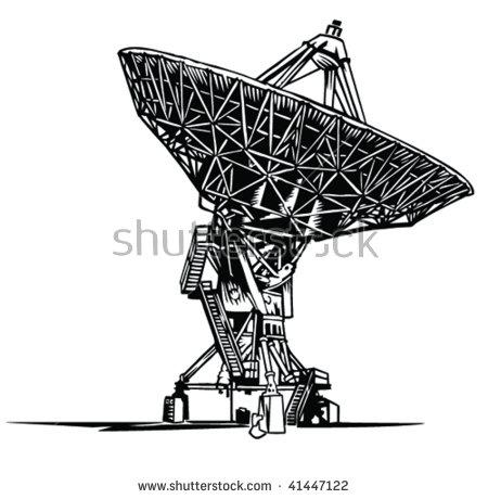 Radio Telescope Stock Vectors, Images & Vector Art.
