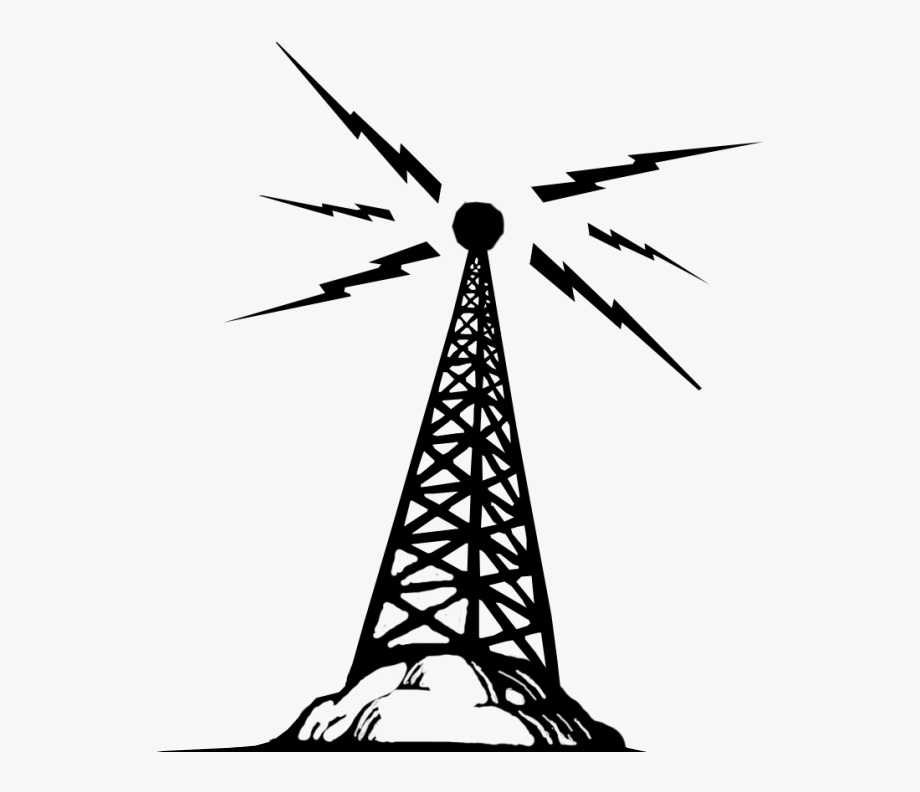 Telecommunications Tower Clip Art.