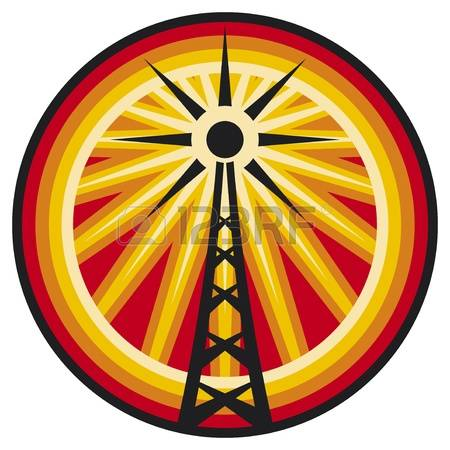 6,494 Radio Tower Stock Vector Illustration And Royalty Free Radio.