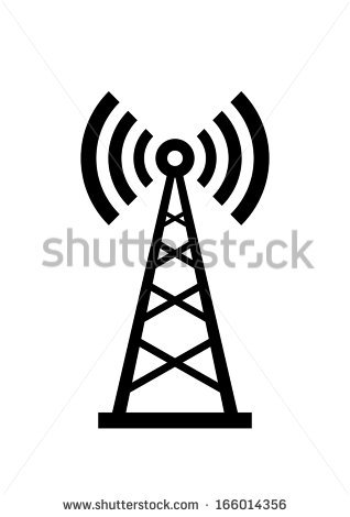 Radio Tower Stock Images, Royalty.