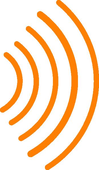Clip Art Radio Waves Clipart.