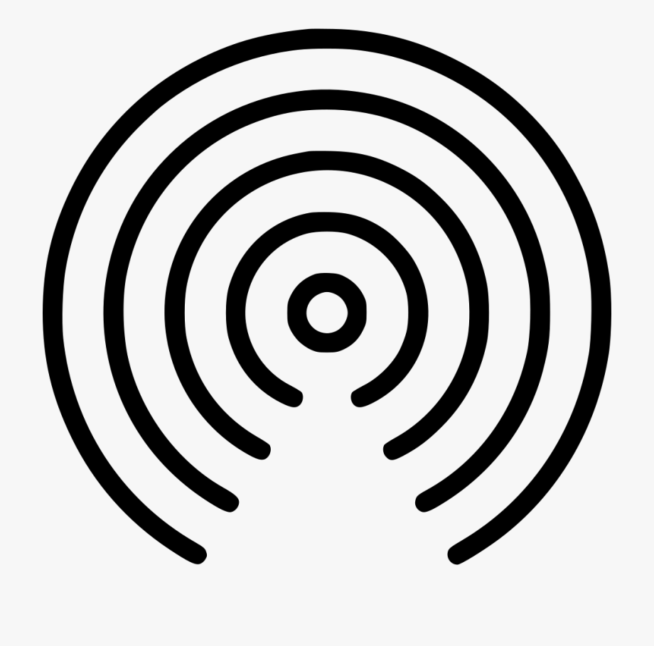 Radio Wave Png.