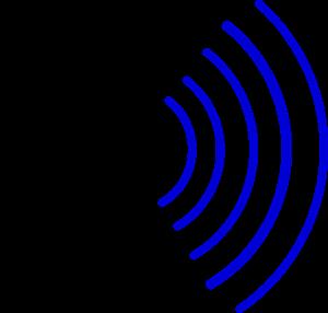 Radio Waves PNG, SVG Clip art for Web.