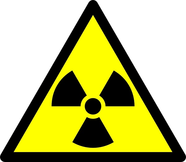 Radioactive clip art Free vector in Open office drawing svg ( .svg.