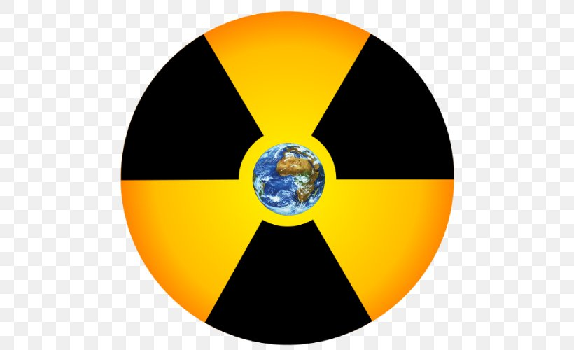 Radioactive Decay Symbol Radiation Clip Art, PNG, 500x500px.