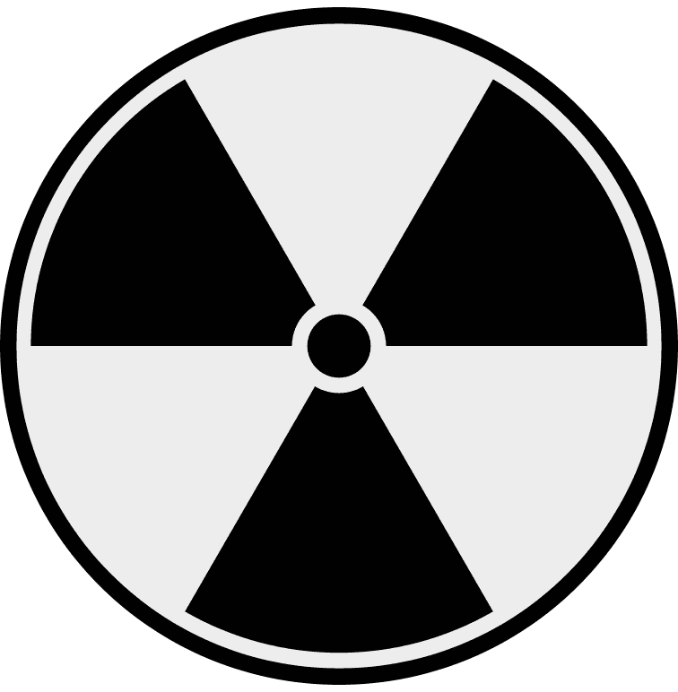 radioactive symbol page.