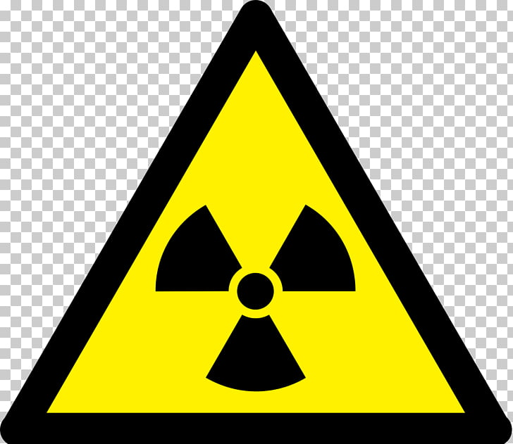Ionizing radiation Hazard symbol Radioactive decay, nuclear.