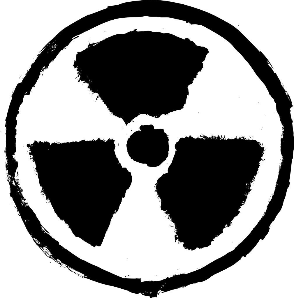 4 Grunge Radioactive Sign (PNG Transparent).