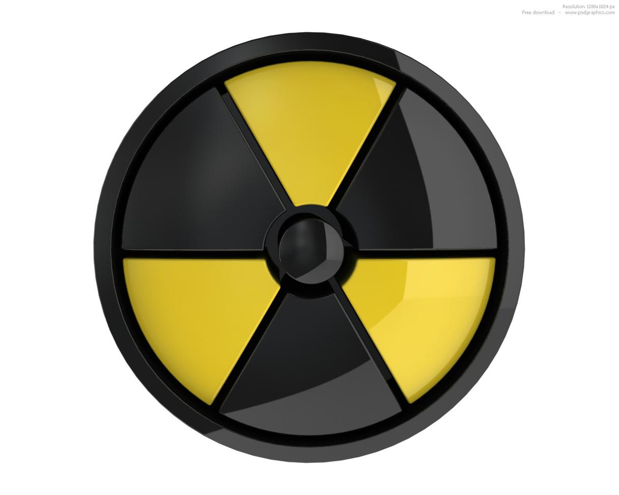 Symbol For Radioactivity Clipart.