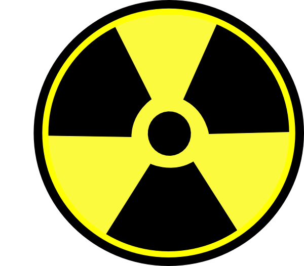 Radioactive Sign Clip Art at Clker.com.