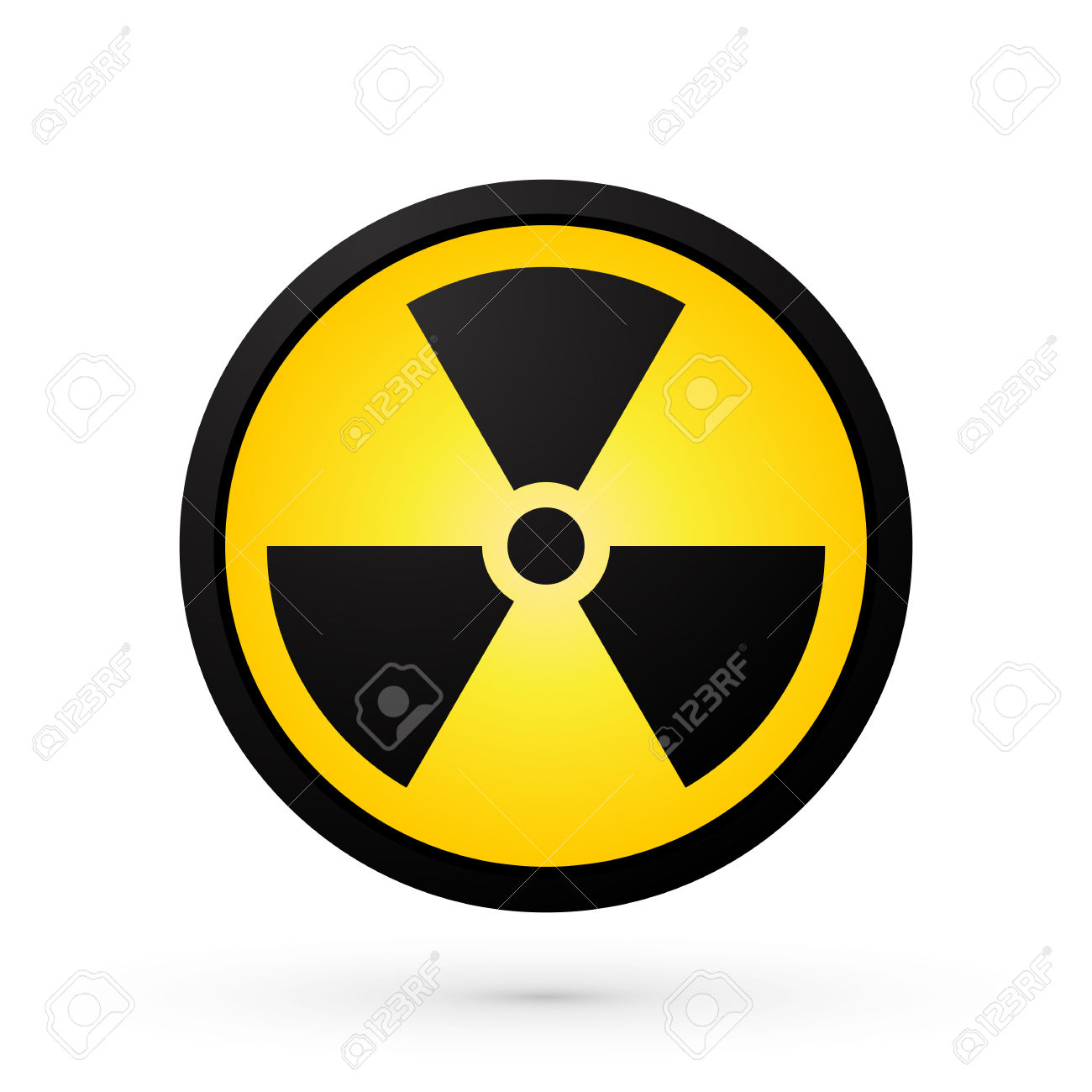 Simple Radioactivity Symbol Royalty Free Cliparts, Vectors, And.
